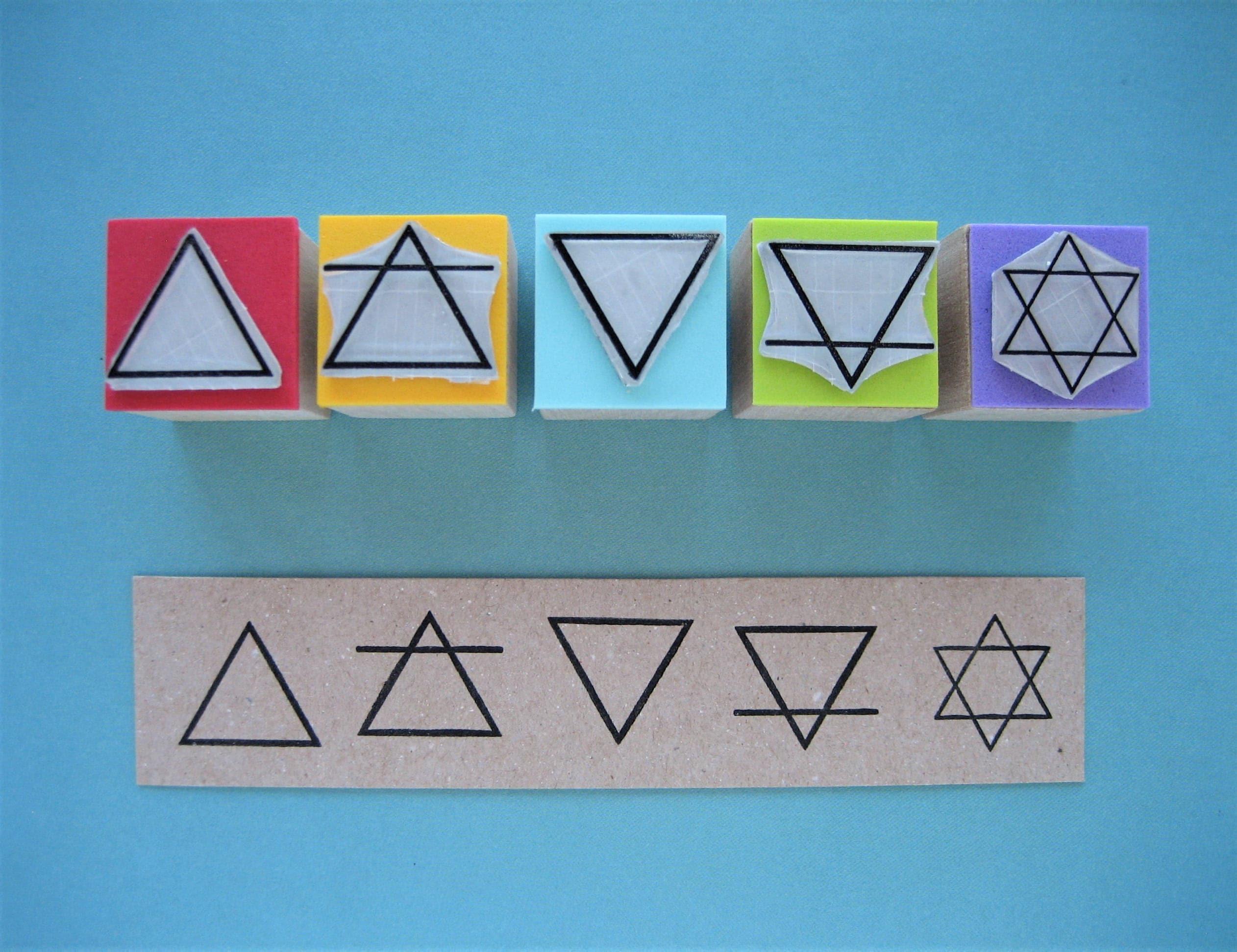 Five Elements Stamps Alchemy Stamps Alchemy Symbols Alchemical