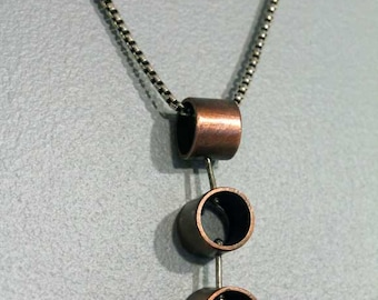 Recycled Copper Tubing Necklace
