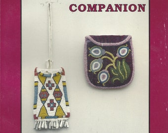 1990s A Beadwork Companion Book by Jean Heinbuch American Indian Beadwork for Rosettes, Belts, Knife Sheaths, Bags and Buckles