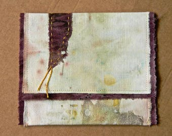 PB02 pocket flap, case, storage, delicacy, vegetable dye