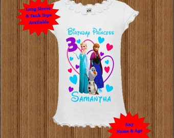 Frozen Birthday Shirt - Disney Frozen Shirt