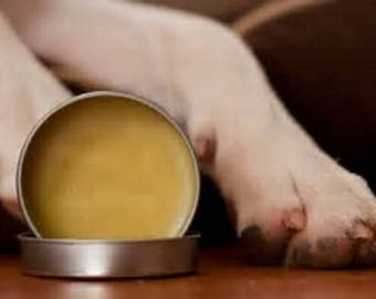 Organic Pawz Wax Infused with Lavendar and Calendula 2oz for Dogs or Cats