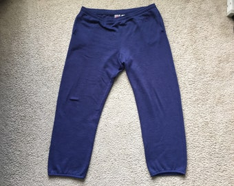 Men's Vintage 80s 90s Nike Jogger Sweatpants Size Medium