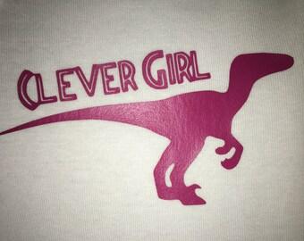 Clever Girl - Jurassic Park inspired Onsie