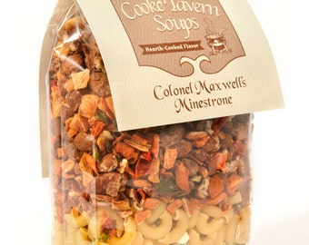 Colonel Maxwell's Minestrone Soup Mix  Cooke Tavern Soups