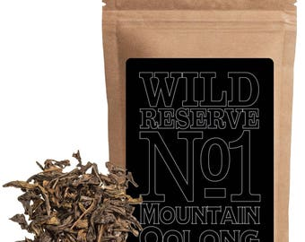 Mountain Oolong Tea Reserve Tea #1 by Wild Foods Co (4 ounce)