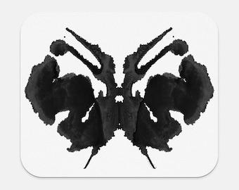 Therapist Gift Rorschach Inkblot Mousepad Office Decor
