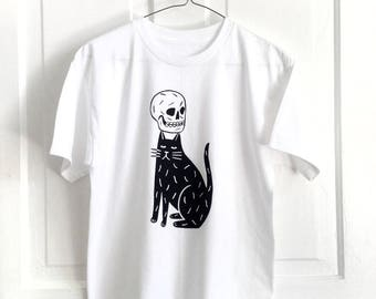 Skull Cap - Screen Printed T-Shirt