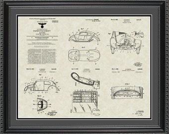 Volkswagen Patent Collection VW Driver Mechanic Gift PVOLK2024