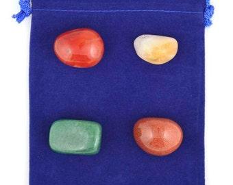 Attract Abundance Intention Stone Set