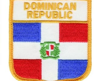 Dominican Republic Patch (Iron on)