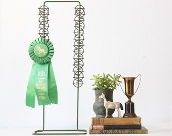 Vintage Clip Stand, Green Chip Display Stand