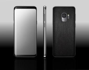 Samsung Galaxy S9 Plus Brushed Gunmetal Hyde Phone Skin Decal
