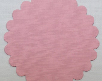 """1.5"""" inch  - Pink Chipboard Letters"""