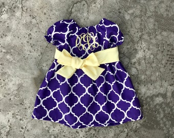 Baby girl outfits, baby girl clothes, purple baby dress, toddler girl outfit, toddler girl clothes, toddler girl dress, infant clothes