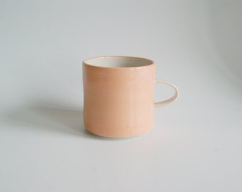 Handmade Stoneware Mug Orange Stoneware Mug Mothers Day Gift Orange Cup Ceramic Mug Coffee Mug Coffee Cup Handmade Pottery Mug Tea Mug