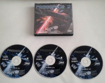 Vintage 1990'S Freespace 2 - PC Game - jewel case 3-CD