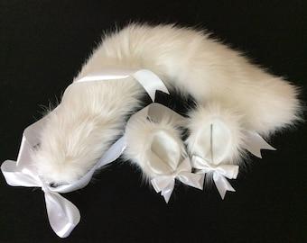 Luxury Kitten/ Wolf Pure Kitten Play Set Tail & Ears