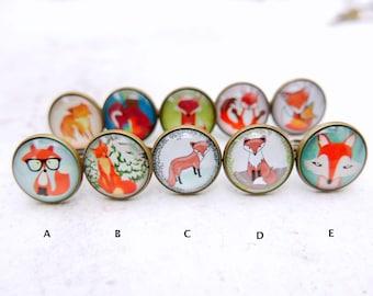 Buy 3 get 1 free, Fox ring, fox jewelry