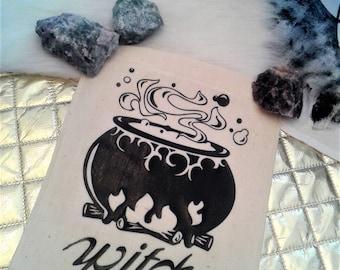 Witch Cauldron Banner