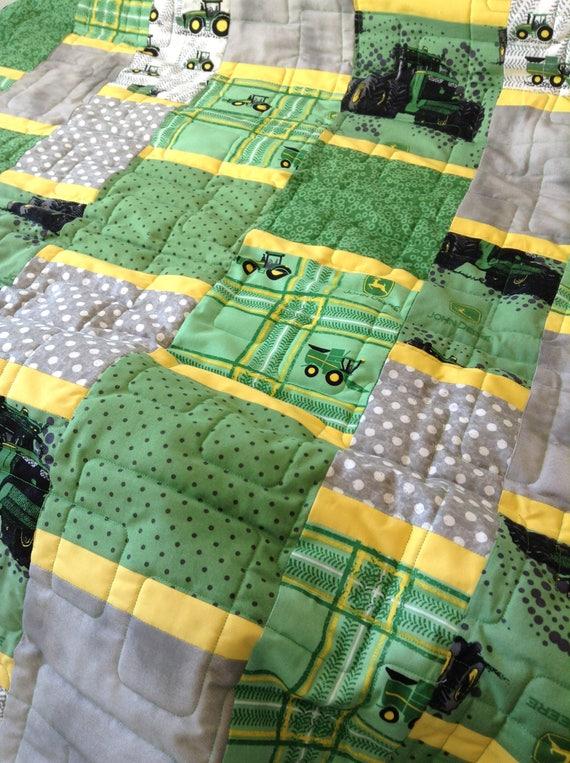 John Deere Quilt Custom Order Available