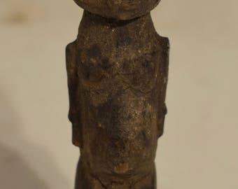 African Lobi Wood Statue Male Burkina Faso Ceremonial Lobi Statue