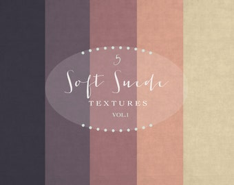 5 Suede digital paper, suede textures