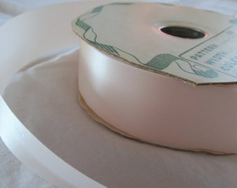"""1 1/2"""" (3cm) wide CHAMPAGNE ACETATE RIBBON- 5 yards"""