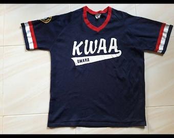 KWAA Omaha tournament Team shirts jersey Made USA