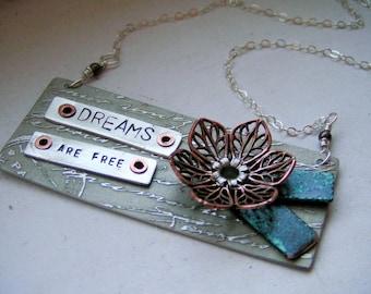 Dreams Are Free Necklace