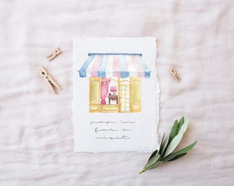 "A2 Stationery Suite | ""BOUTIQUEY SUITE"" 
