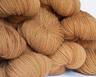 Rauwerk - Bayerische Bio-Wolle - gold - Strickwolle