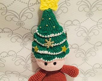 Crochet Amigurumi Christmas Tree Doll