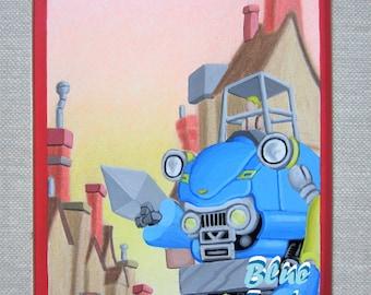 Blue Trot
