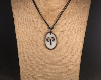Aries Tagua Nut Necklace