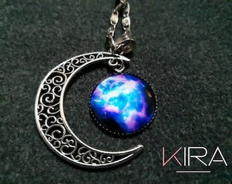 Handmade Moon Necklace