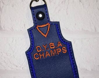 Basketball Key Chain, Basketball Jersey - Basketball Gifts - Basketball Key Chain - Sports Bag Tag - Team Gift - Team Gift - From The Stands