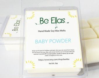 Baby Powder Soy Wax Melts, Mix and Match, Wax Melts, Wax Melters, Scented Wax Melts, Scented Wax Tarts, Soy Wax Tarts, Gift Idea