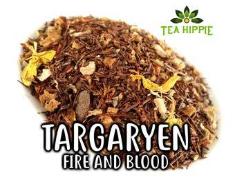 50g Targaryen (Fire and Blood) - Loose Black Tea (Game of Thrones Inspired)