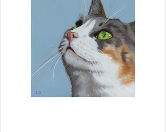 "Open edition print, ""The Calico"" signed"