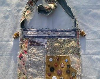 Spring ~Summer Yellow Scrap Work Bag