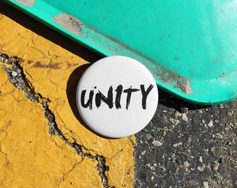 UNITY - Pinback or Magnet Button or Badge Reel