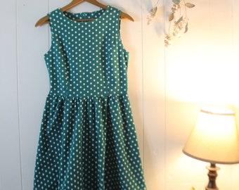 Vintage Polka Dot Carnival Dress