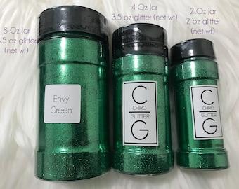 Polyester Glitter - Shaker Jar - Envy Green