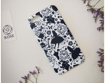 Phone Case iPhone7 - Alice in Wonderland