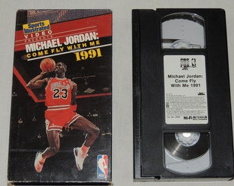 VTG Michael Jordan / Sports Illustrated Come Fly With Me 1991 VHS Tape Chicago Bulls NBA