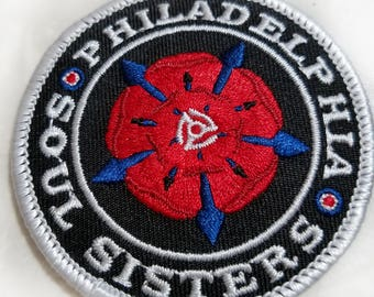 Philadelphia Soul Sisters Embroidered Patch
