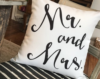 Mr. and Mrs. Pillow