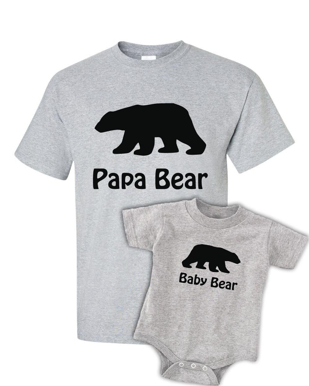 0733b97265b Daddy Bear Baby Bear T Shirts - BCD Tofu House