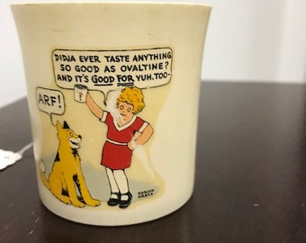 Beetleware Little Orphan Annie Ovaltime Cup